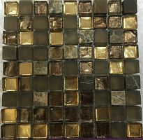 Treasures Bronze Emperador 30,1x30,1